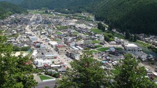 郡上八幡城からの景色-3・2013.7.18.JPG